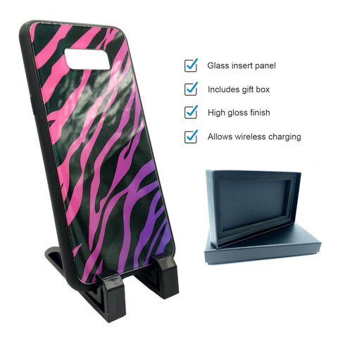 sublimation blank galaxy s8 plus glass case
