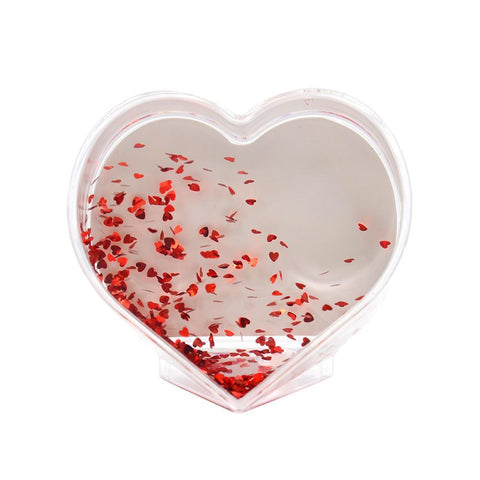 sublimation blank heart acrylic block subliflex