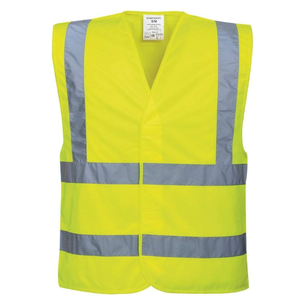 sublimation blank hi vis vest