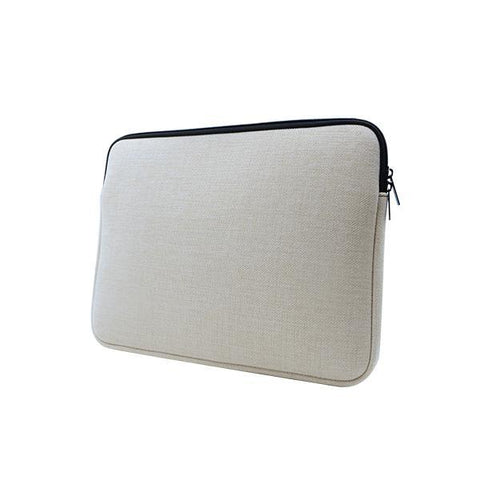 sublimation blank linen laptop sleeve