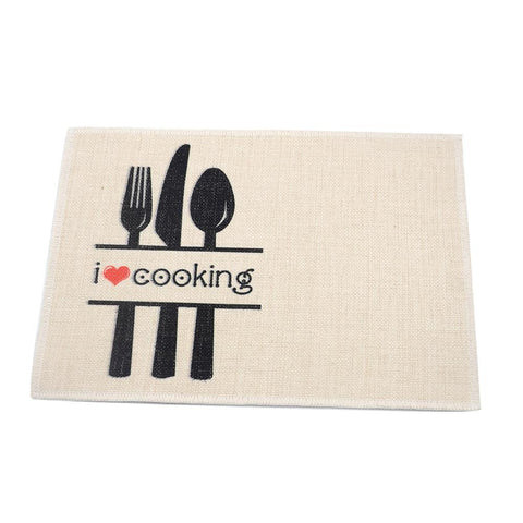 sublimation blank linen placemat