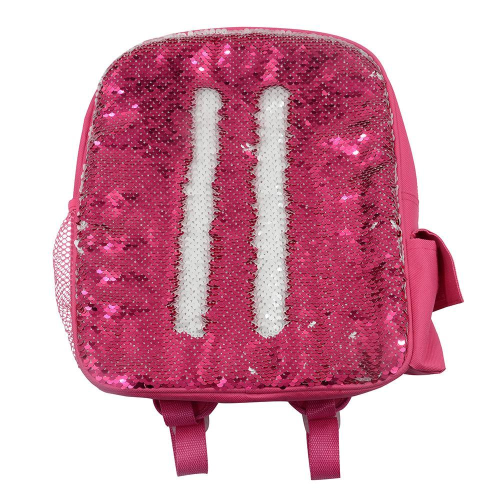sublimation sequin backpack pink
