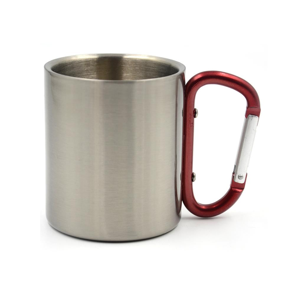 sublimation stainless steel mug with clip