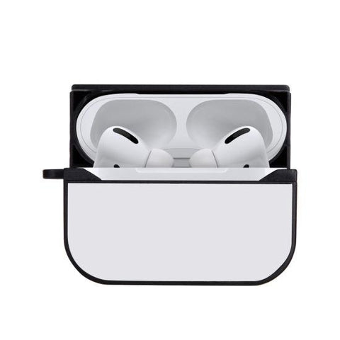 sublimation blank airpod pro case black