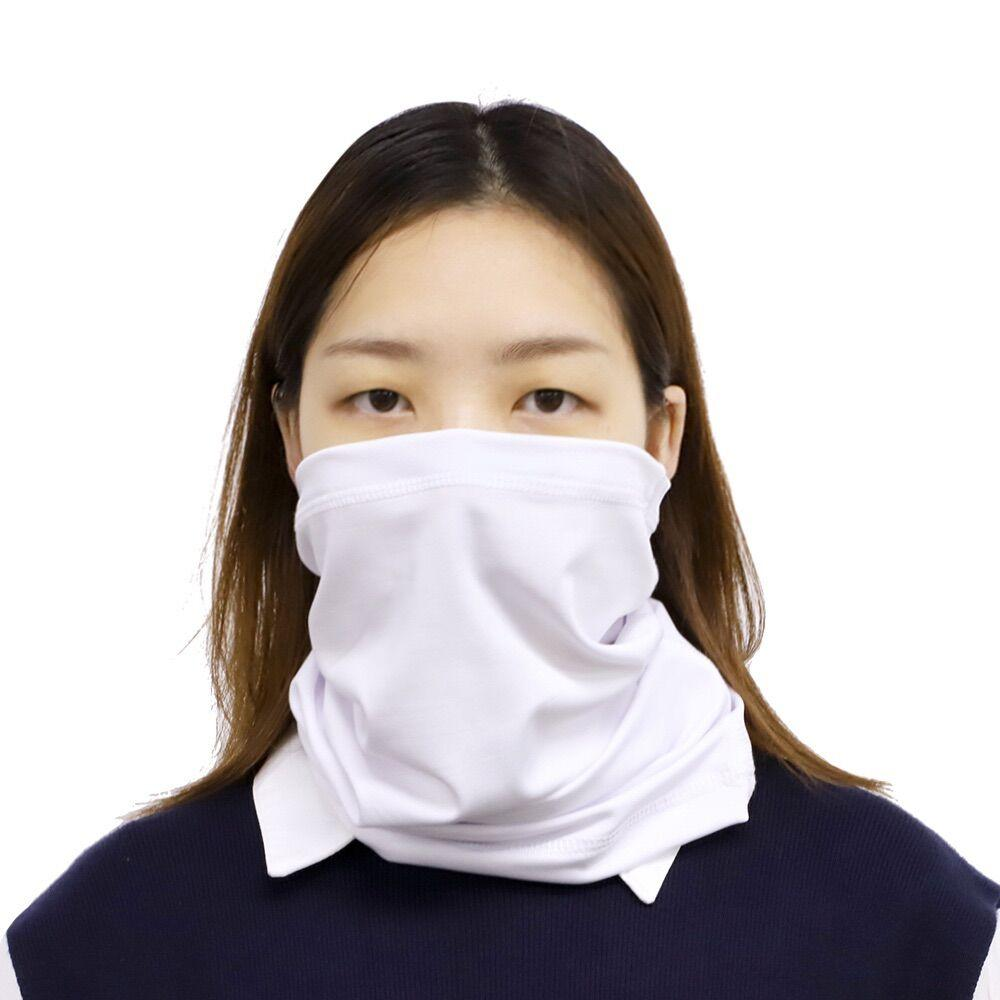 sublimation blank face mask neck gaiter