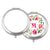 Round Compact Pocket Mirror - Silver