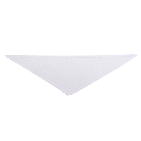 sublimation blank pet bandana white