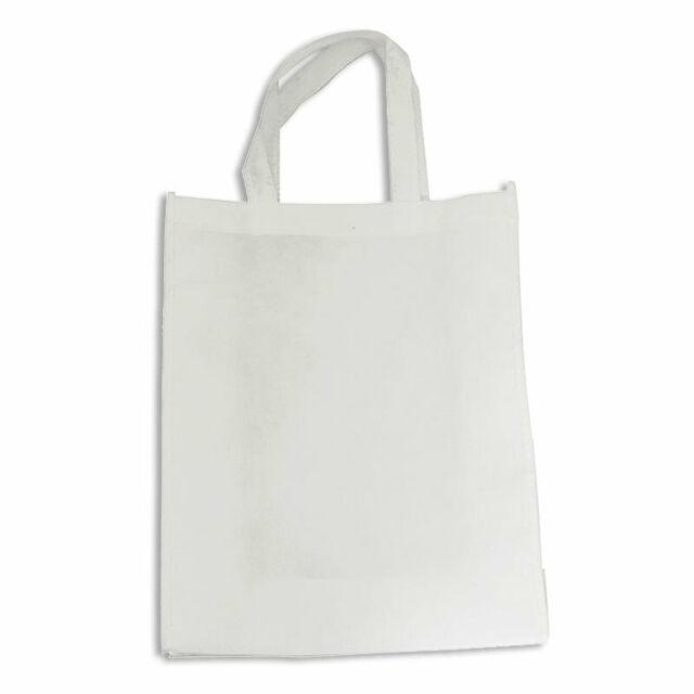 sublimation blank white tote shopping bag