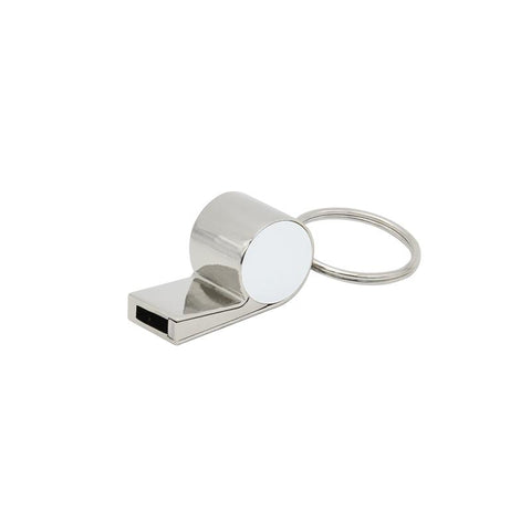 Sublimation blank metal whistle