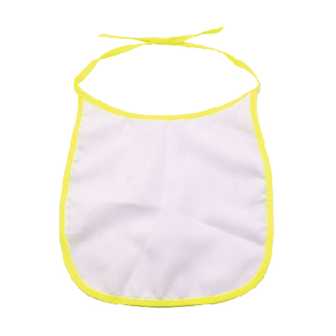 sublimation blank yellow bib