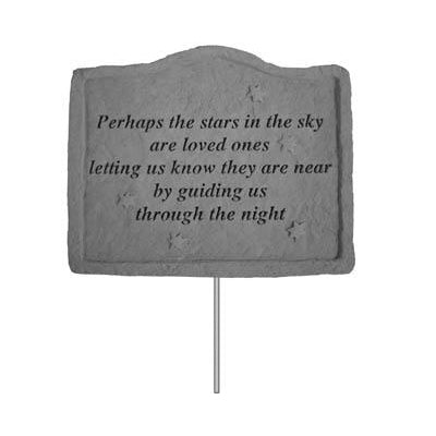 Garden Stake-Perhaps the stars… Memorial Gift-Memorial Gift-Kay Berry-Afterlife Essentials