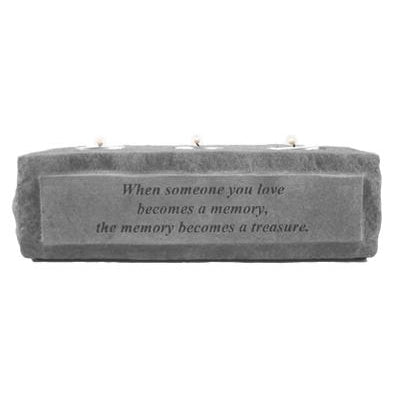 When someone you… (3 light) Memorial Gift-Memorial Stone-Kay Berry-Afterlife Essentials