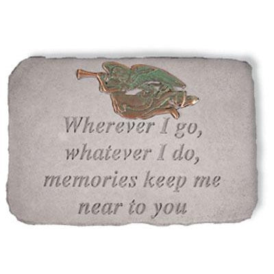 Wherever I go… Memorial Gift-Memorial Stone-Kay Berry-Afterlife Essentials