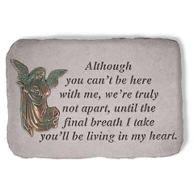 Although you can't… Memorial Gift-Memorial Stone-Kay Berry-Afterlife Essentials