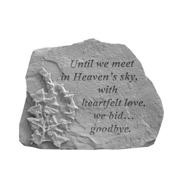 Until we meet… w/ivy Memorial Gift-Memorial Stone-Kay Berry-Afterlife Essentials