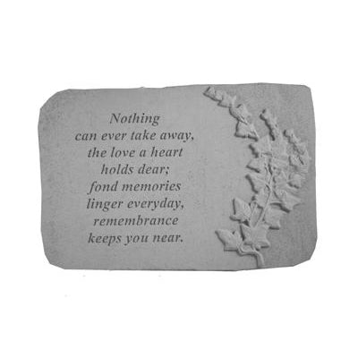Nothing can ever take… w/ivy Memorial Gift-Memorial Stone-Kay Berry-Afterlife Essentials