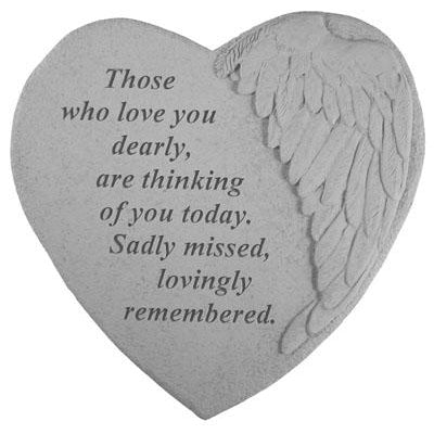 Those who love you… Memorial Gift-Memorial Stone-Kay Berry-Afterlife Essentials
