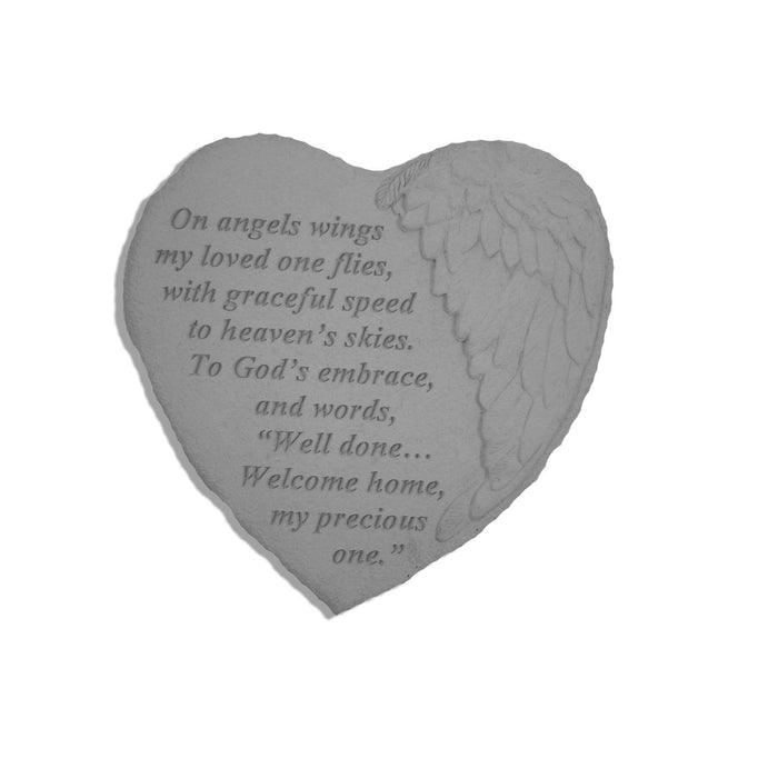 On angels wings… Memorial Gift-Memorial Stone-Kay Berry-Afterlife Essentials