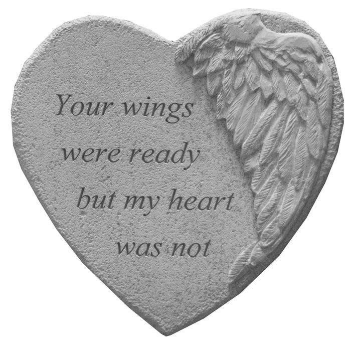 Your wings were… Memorial Gift-Memorial Stone-Kay Berry-Afterlife Essentials