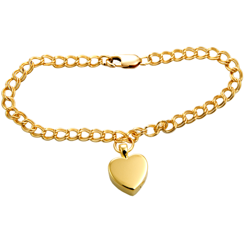 Gold Fill Double Link Bracelet Cremation Jewelry-Jewelry-New Memorials-Afterlife Essentials