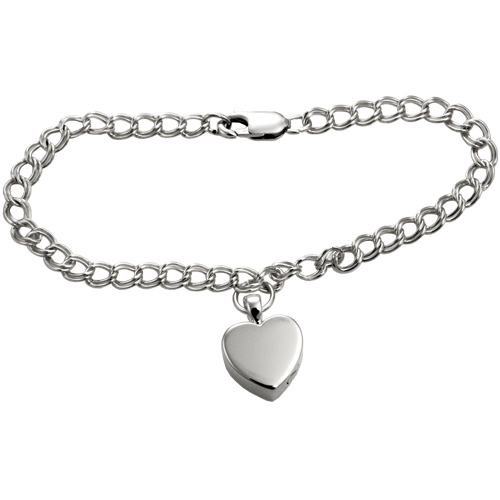 Sterling Double Link Bracelet- Pendant Sold Separately-Jewelry-New Memorials-Afterlife Essentials