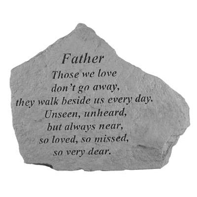 FATHER Those we love… Memorial Gift-Memorial Stone-Kay Berry-Afterlife Essentials