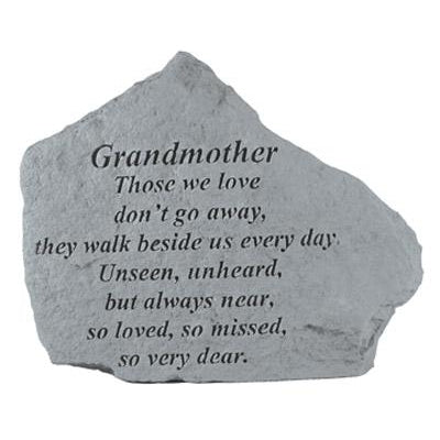 GRANDMOTHER Those we love… Memorial Gift-Memorial Stone-Kay Berry-Afterlife Essentials