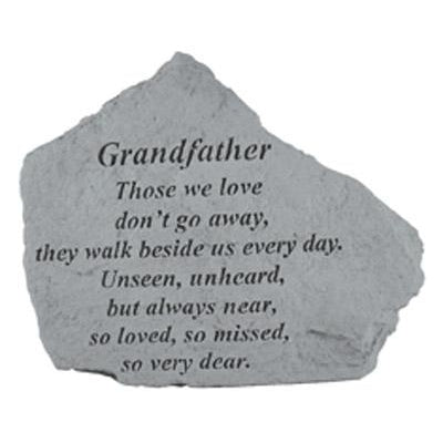GRANDFATHER Those we love… Memorial Gift-Memorial Stone-Kay Berry-Afterlife Essentials