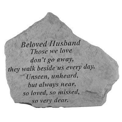 BELOVED HUSBAND Those we love… Memorial Gift-Memorial Stone-Kay Berry-Afterlife Essentials