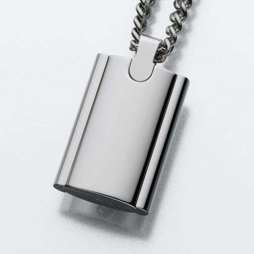 Stainless Steel Flask Pendant Cremation Jewelry-Jewelry-Afterlife Essentials-Afterlife Essentials