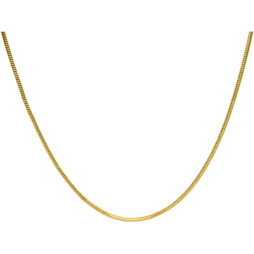 "20"" Gold Plated Snake Chain Cremation Jewelry-Jewelry-New Memorials-Afterlife Essentials"