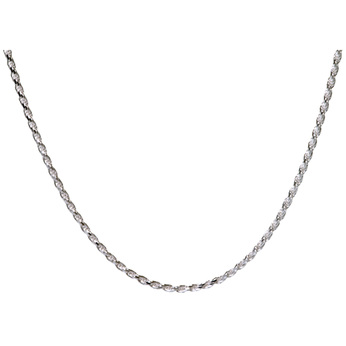 "Sterling Silver Rope Chain 16"" Cremation Jewelry - Afterlife Essentials"