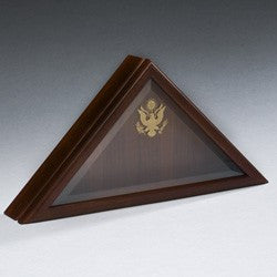 Solid Cherry Presidential Flag Case-Cremation Urns-Infinity Urns-Afterlife Essentials