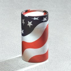 Scattering Tube Series American Flag 20 cu in Cremation Urn-Cremation Urns-Infinity Urns-Afterlife Essentials