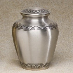 Avalon Brass 186 cu in Cremation Urn-Cremation Urns-Infinity Urns-Afterlife Essentials