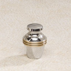 Apollo Brass Mini 1 cu in Cremation Urn Keepsake-Cremation Urns-Infinity Urns-Afterlife Essentials