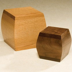 Bainbridge Walnut Solid Walnut Wood 200 cu in Cremation Urn-Cremation Urns-Infinity Urns-Afterlife Essentials