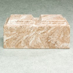 Majesty Companion Urn Series Syrocco Simulated Marble 410 cu in Cremation Urn-Cremation Urns-Infinity Urns-Afterlife Essentials