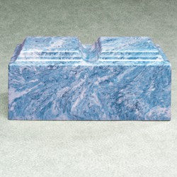 Majesty Companion Urn Series Sky Blue Simulated Marble 410 cu in Cremation Urn-Cremation Urns-Infinity Urns-Afterlife Essentials