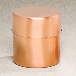 Copper Cylinder 200 cu in Cremation Urn-Cremation Urns-Infinity Urns-Afterlife Essentials
