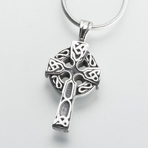 Celtic Cross Pendant Cremation Jewelry-Jewelry-Madelyn Co-Afterlife Essentials