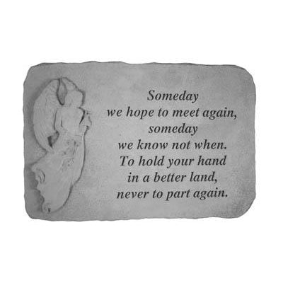Someday we hope… Memorial Gift-Memorial Stone-Kay Berry-Afterlife Essentials
