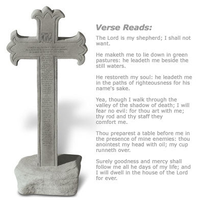 23rd Psalm… Memorial Gift-Memorial Stone-Kay Berry-Afterlife Essentials