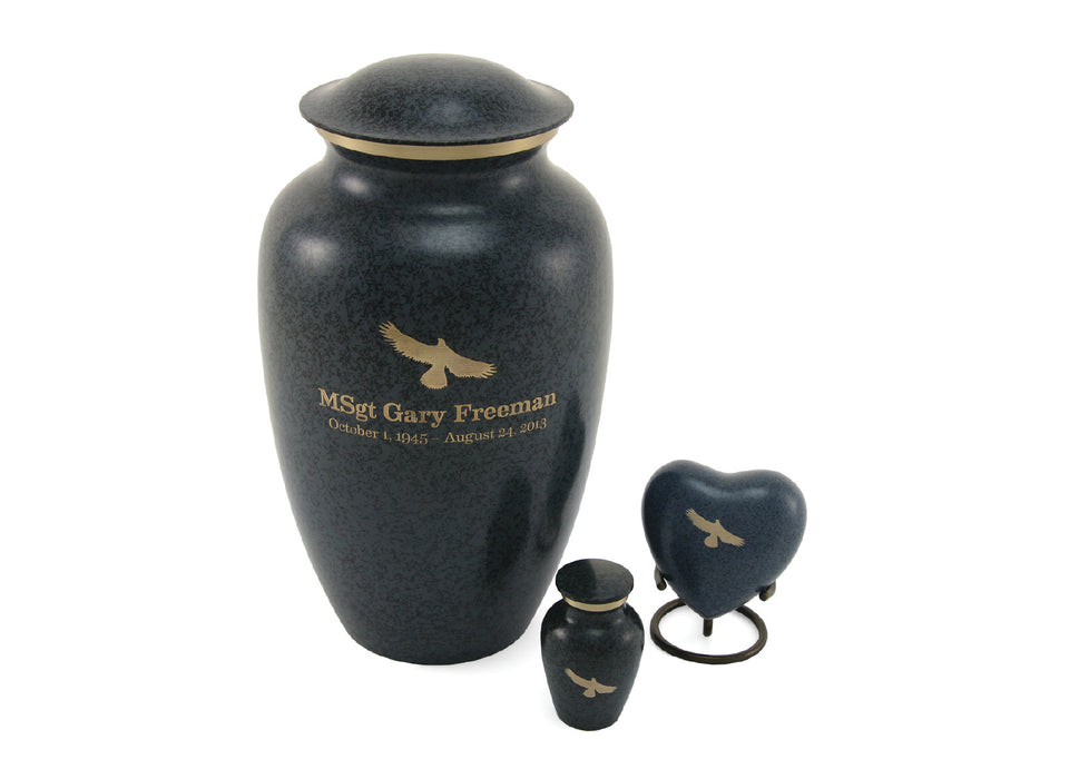 MAUS Granite Large/Adult Cremation Urn-Cremation Urns-Terrybear-Afterlife Essentials