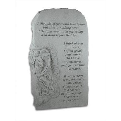 I thought of you with love… Obelisk Memorial Gift-Memorial Stone-Kay Berry-Afterlife Essentials