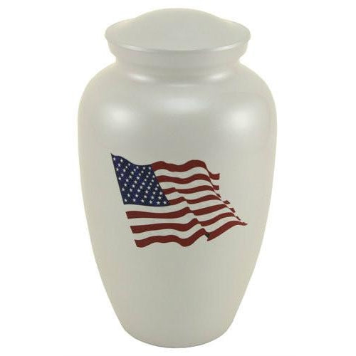 Classic Flag Color Large/Adult Cremation Urn-Cremation Urns-Terrybear-Afterlife Essentials