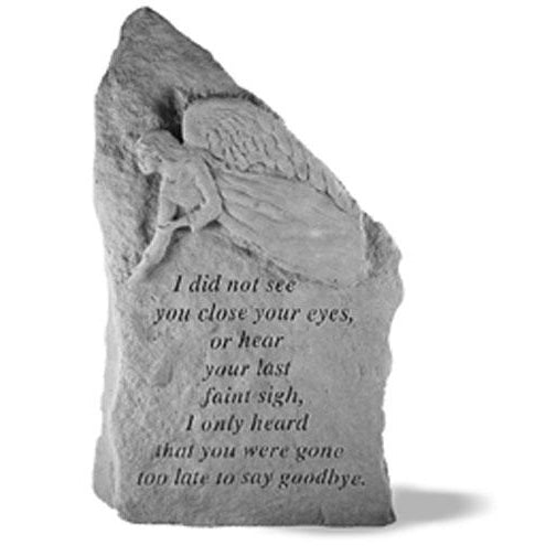 I did not see… Memorial Gift-Memorial Stone-Kay Berry-Afterlife Essentials