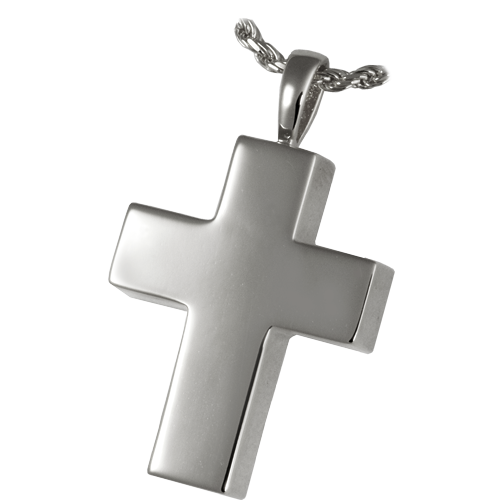 Medium Cross Pendant Cremation Jewelry-Jewelry-New Memorials-Afterlife Essentials