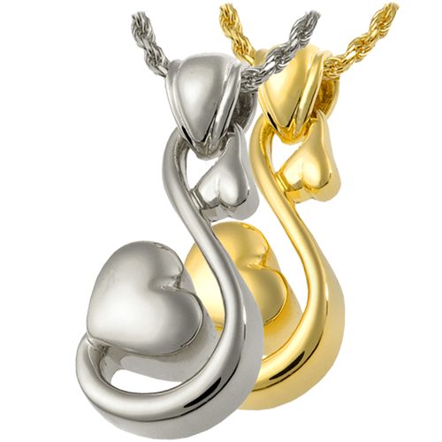 Infinite Love Pendant Cremation Jewelry-Jewelry-New Memorials-Afterlife Essentials