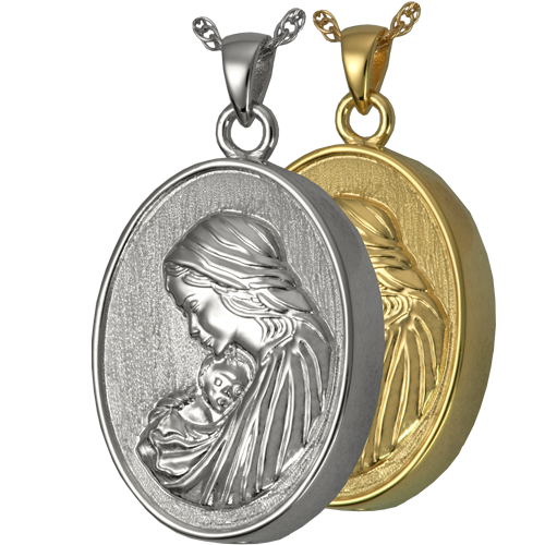 Motherly Love Pendant Cremation Jewelry-Jewelry-New Memorials-Afterlife Essentials